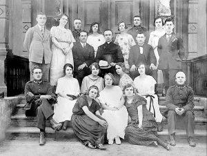 Chór Marymoncki zorganizowany przez bł. ks. Michała Sopoćkę – 1924 r.