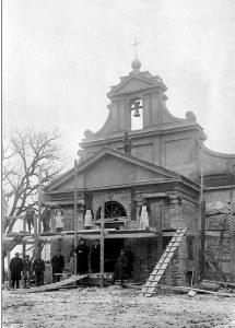 Rozbudowa kościoła – 1924 r.