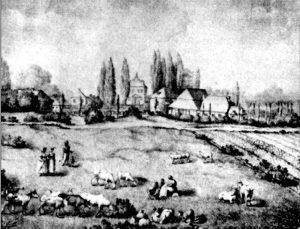 Widok na Marymont – ok. 1830 r.