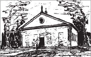 Rysunek inwentaryzacyjny z ok. 1720 r.