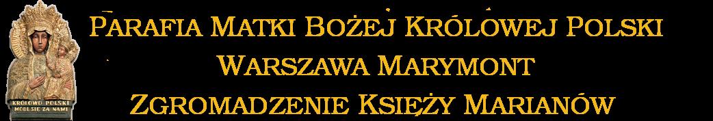 Parafia Matki Bożej Królowej Polski Marymont