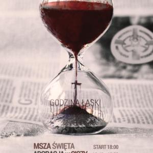 Godzina Łaski plakat plus informacje.