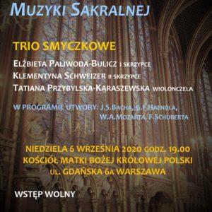 koncert 6.09.2020